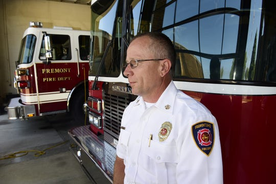 Chief David Foos with the Fremont Fire Department said there's been several new firefighters start work at the department in recent months. He said some of the department's firefighters had taken jobs in bigger cities, prompting the vacancies.