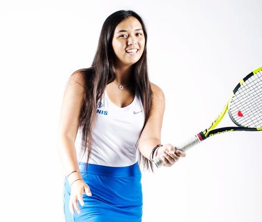 Canterbury School tennis player Emily Javedan is a News-Press Girls Tennis finalist of the year