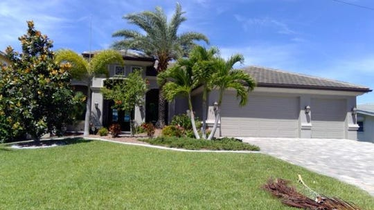 This home at 5058 Saxony Court, Cape Coral, recently sold for $1.225 million.