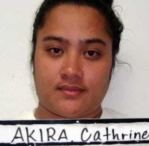 Cathrine Akira accused of making car crash, driver charged with DUI