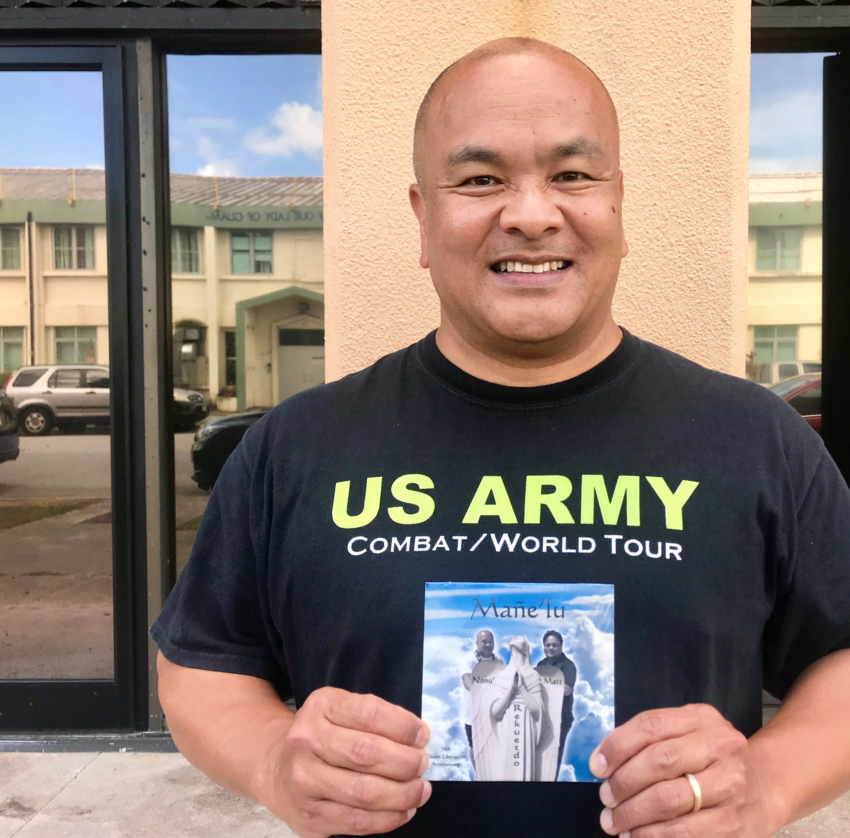 Former Guam resident sings to remember the liberation, in English and CHamoru