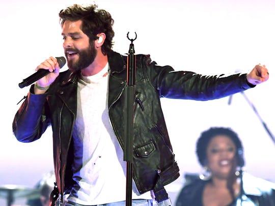 Thomas Rhett will perform June 21 at Ruoff Home Mortgage Music Center.