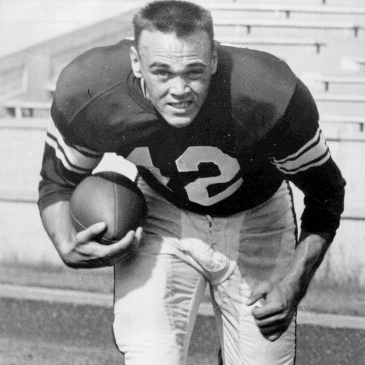 Gene Keady, college football phenom, 1958 NFL draft pick and 4-sport athlete