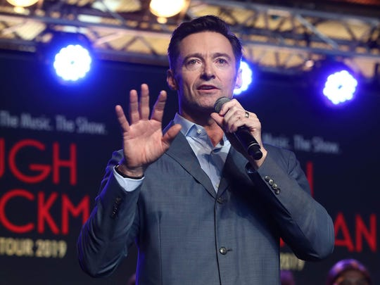 Hugh Jackman will perform Oct. 12 at Bankers Life Fieldhouse.