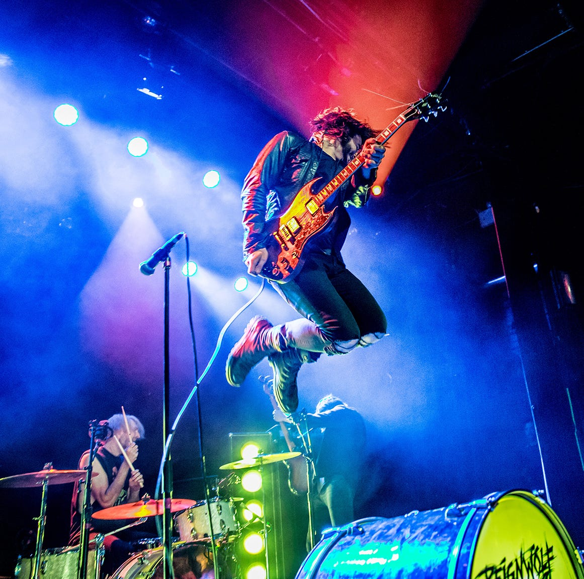 They will open for The Who. But first, Reignwolf will play in Jackson.