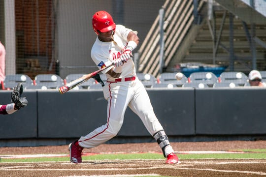 Junior Todd Lott tallied three hits, the third time this year he has had three or more hits in a game, and added two RBI in the Ragin' Cajuns series opener at Coastal Carolina Friday.