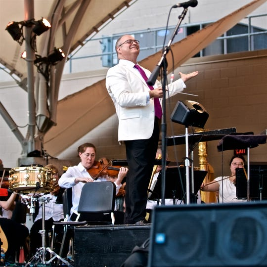 Stuart Chafetz will lead the Columbus Symphony during the Patriotic Pops concert on June 29.