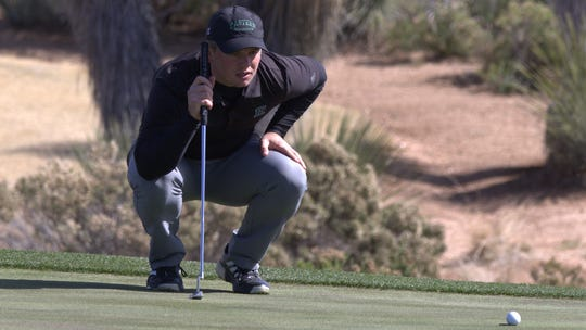 Hartland graduate Beau Breault set an Eastern Michigan University record by averaging 71.75 for 18 holes.