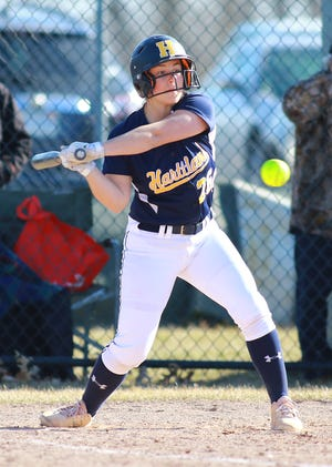 Hartland's Delaney Robeson drove in 11 runs in a two-game series against Northville.