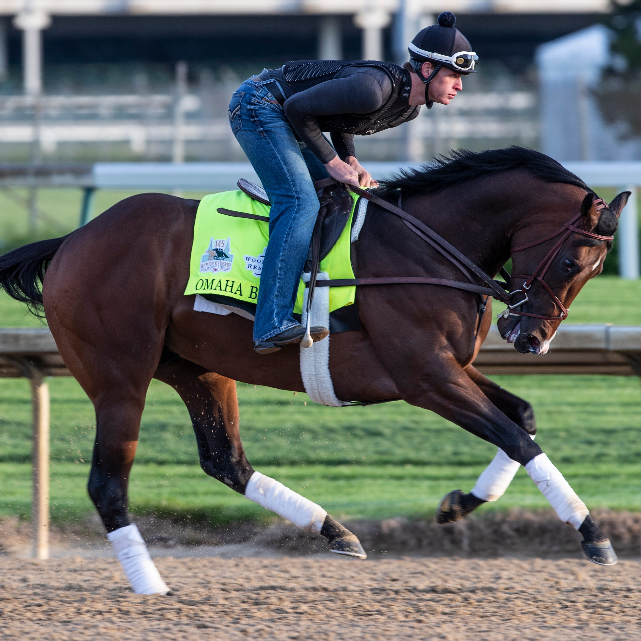 Omaha Beach won't run in Preakness or Belmont either, trainer says