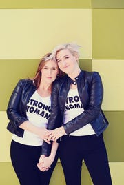 Trinea Gonczar (left) and Amanda Thomashow have co-founded a new Detroit-based nonprofit organization to support survivors of sexual assault through healing, education and advocacy.