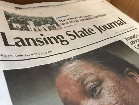The Lansing State Journal received several honors Monday from the Michigan Associated Press Media Editors.