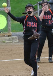 Lucas' Erica Westfield recorded four hits and four RBI in an 11-1 win over Seneca East on Saturday in the Division IV sectional championship game.