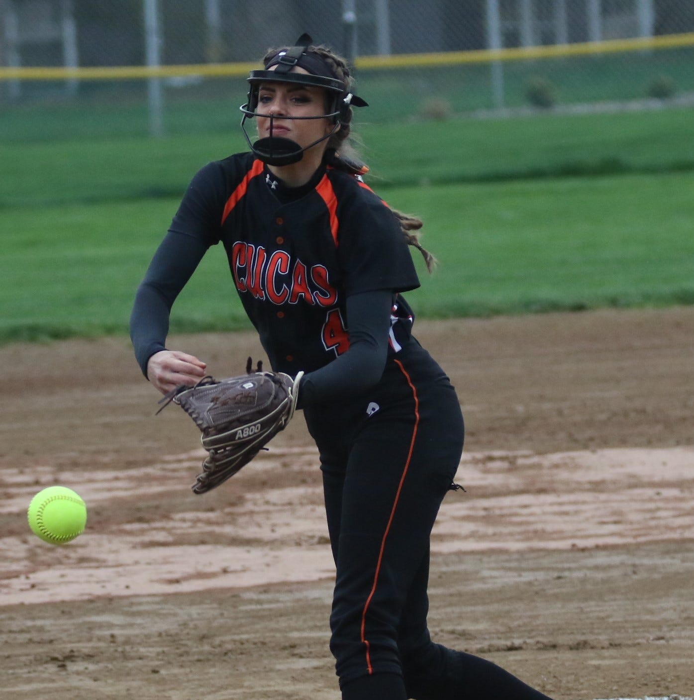 Erica Westfield's perfect game nets Lucas Lady Cubs outright Mid-Buckeye Conference title