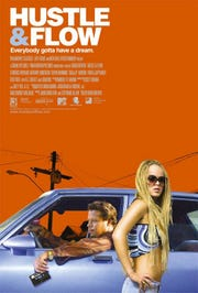 """A rarely seen alternate poster for """"Hustle & Flow."""""""