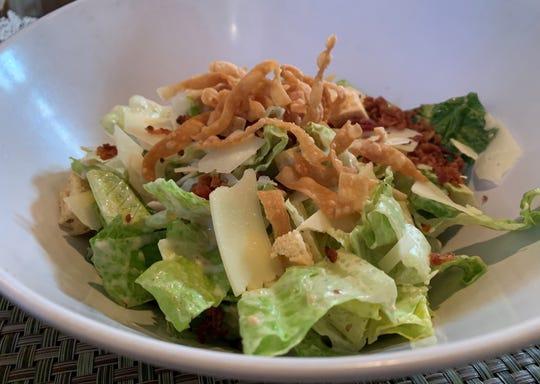 The Bistro Caesar Salad from Marek's, Marco Island.