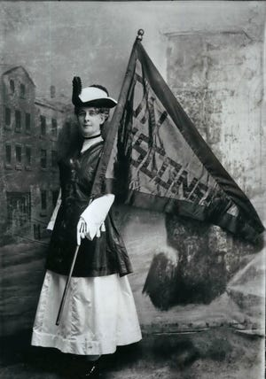 Theodora Youmans was president of the Wisconsin Woman's Suffrage Association.