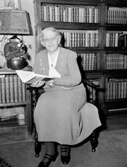 Carrie Chapman Catt was Susan B. Anthony's handpicked successor to the National American Woman Suffrage Association and spoke to Congress in 1892 about amending the Constitution to give women full voting rights.