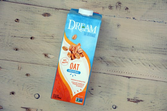 Oat milk is often slightly sweetened and can be used in any way you would use cow's milk.