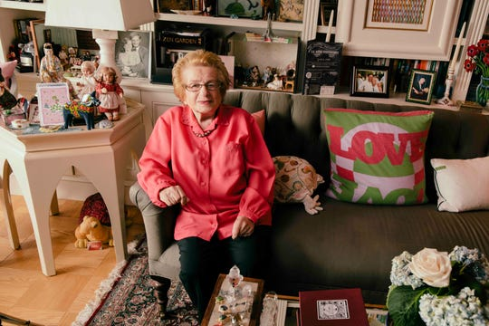 """""""Ask Dr. Ruth"""" chronicles the incredible life of Ruth Westheimer, a Holocaust survivor who became America's most famous sex therapist."""