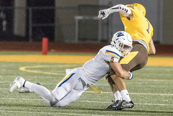 As a junior, Widener defensive back Jordan Powell of Morristown set an NCAA Division III record with six defensive touchdowns.