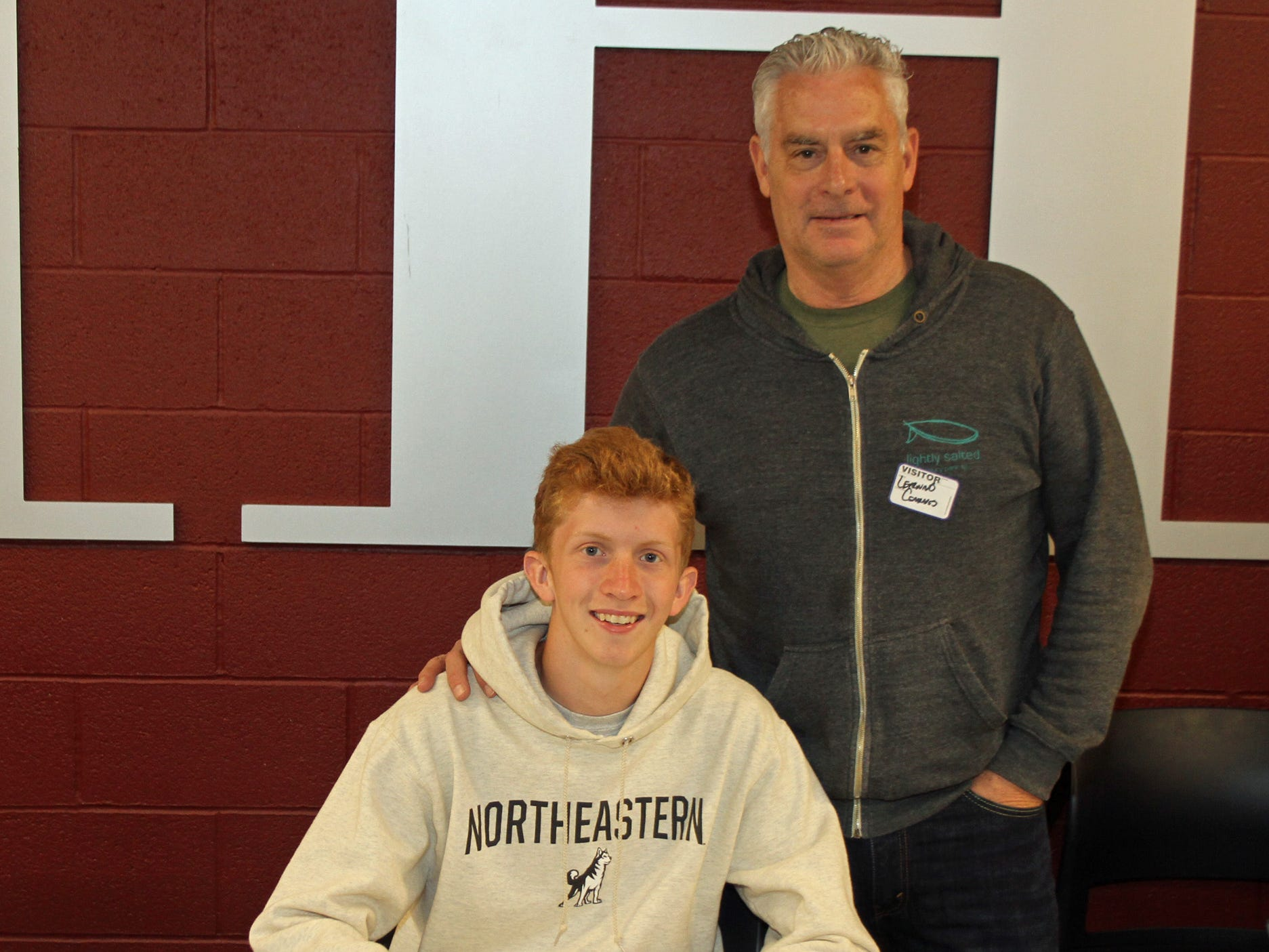 Morristown senior Patrick Mullen signed a National Letter of Intent with Northeastern track and field and cross country on Friday.