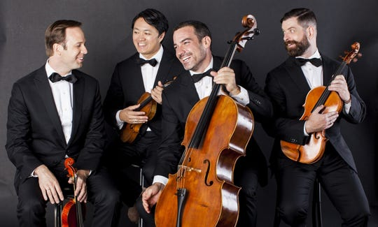 Miró Quartet will perform Sunday for the Montgomery Chamber Music Organization at the Montgomery Museum of Fine Arts.