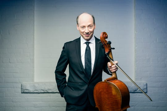 Cellist Clive Greensmith will perform with the  Miró Quartet on Sunday for the Montgomery Chamber Music Organization.