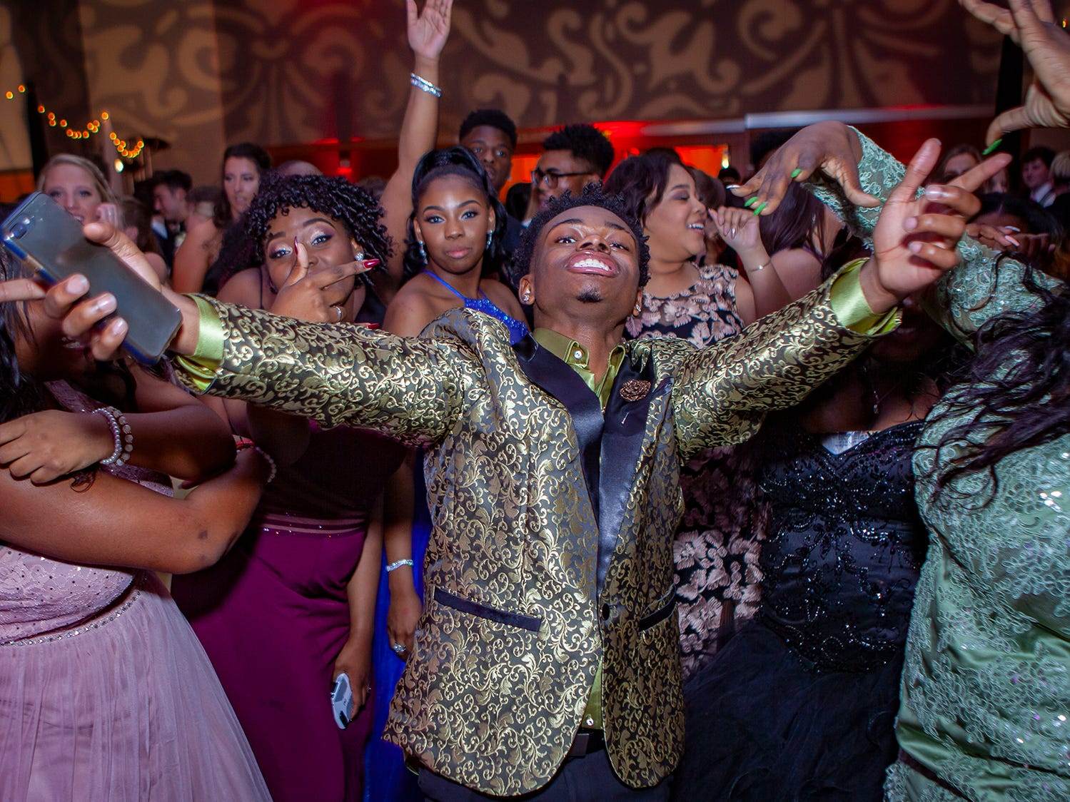 Riverdale's promgoers packed the dance floor Saturday, April 27, 2019 at MTSU's Student Union Building.