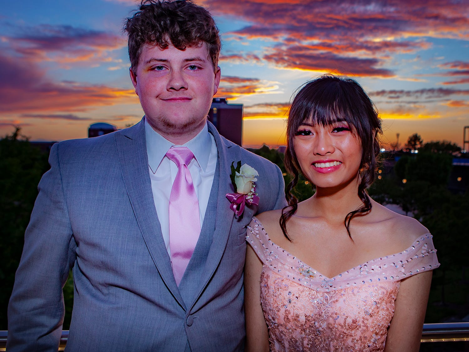 Riverdale's prom, held Saturday, April 27, 2019 at MTSU's Student Union Building.