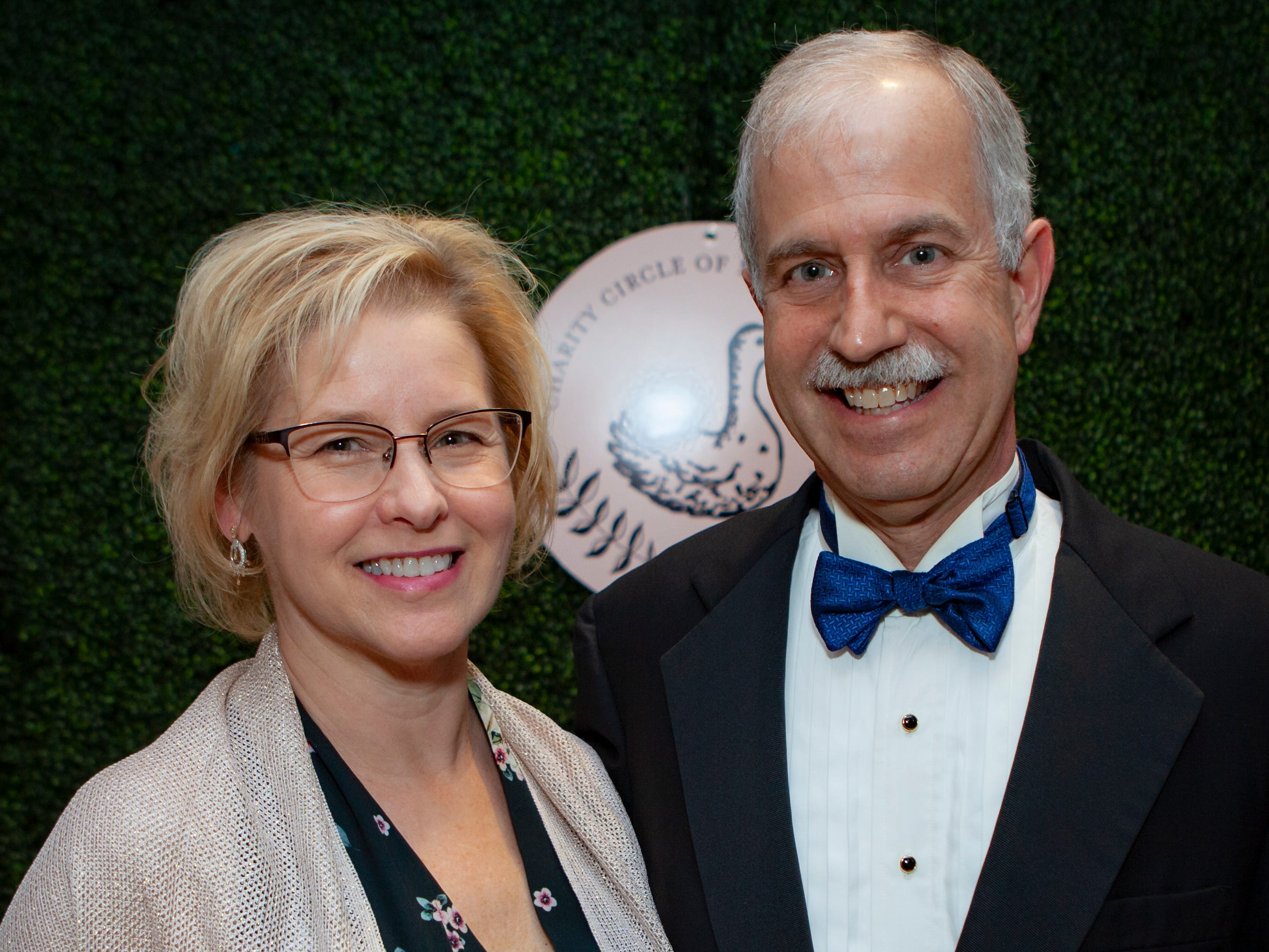 Paula and Bob Jones at the Charity Circle of Murfreesboro's 52nd Annual Duck Ball, held Saturday, April 27, 2019.
