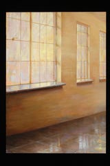 "Juliette Aristides, ""Westlight,"" 2019, oil on panel, 24""x17."""