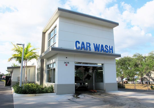 The new Luv-A-Wash automated car wash planned to replace the self-service bays at 4712 Golden Gate Parkway in Golden Gate will be similar to this Luv-A-Wash on Pine Ridge Road in North Naples.