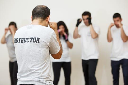 CSS volunteers undergoing security training