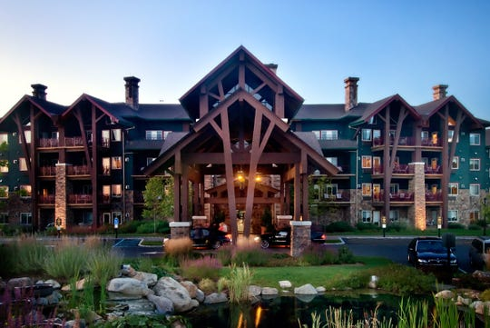 A Mother's Day buffet will be held at Grand Cascades Lodge, part of Crystal Springs Resort.