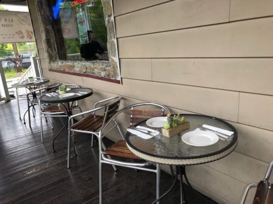 Eat out on the patio of The Front Porch in Hawthorne