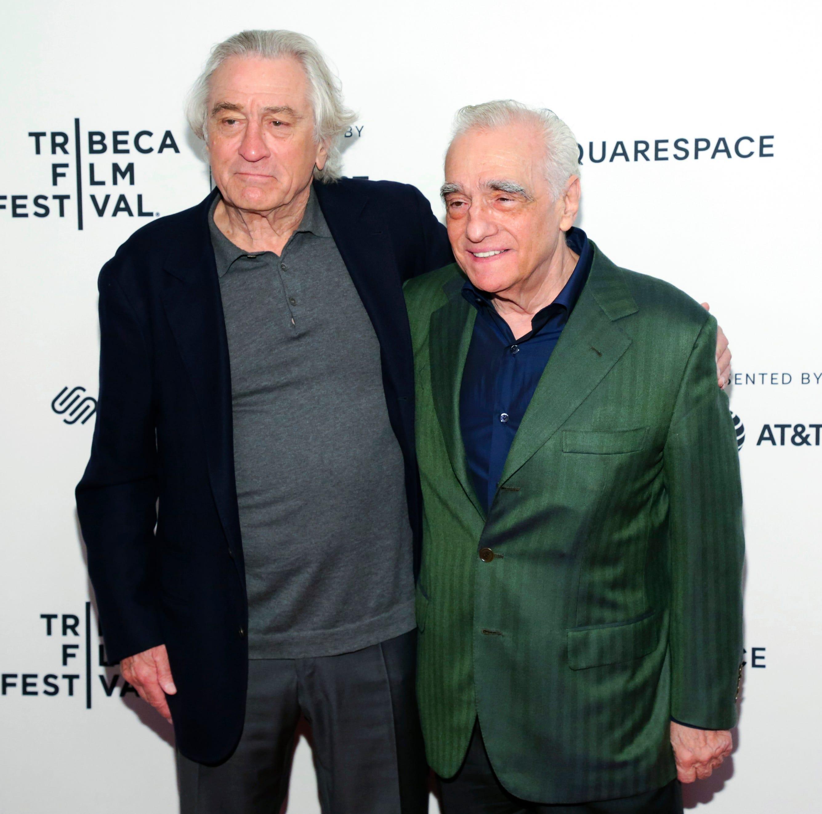 Ahead of 'The Irishman,' Scorsese and De Niro look back at Tribeca