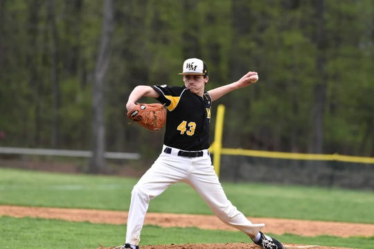 West Milford sophomore Christian Aiello is contributing at the plate and on the mound for the Highlanders this season.