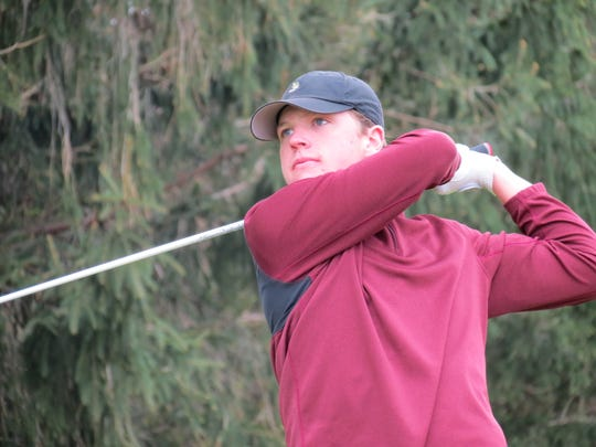Matt Dudek led Don Bosco to third place at the Arcola Invitational golf tournament at Arcola Country Club in Paramus on Monday, April 29, 2019.