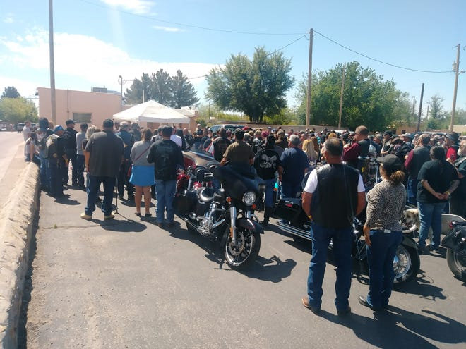 Fraternal Order of the Eagles 4038 conducted its second annual bike blessing on April 20.