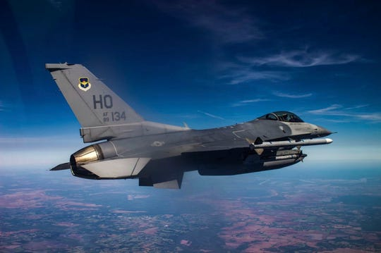 U.S. Air Force Senior 8th Fighter Squadron deployed on a temporary duty assignment, March 29, 2019 to April 12, 2019, to Naval Air Station Joint Reserve Base New Orleans, La. Many personnel were given the opportunity to go on a FAM ride in the back of an F-16 D-model during the TDY.