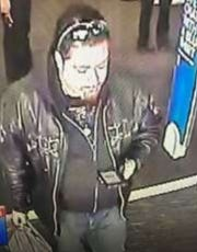Bloomfield Township police are looking for this man suspected of using a debit card illegally at Best Buy.