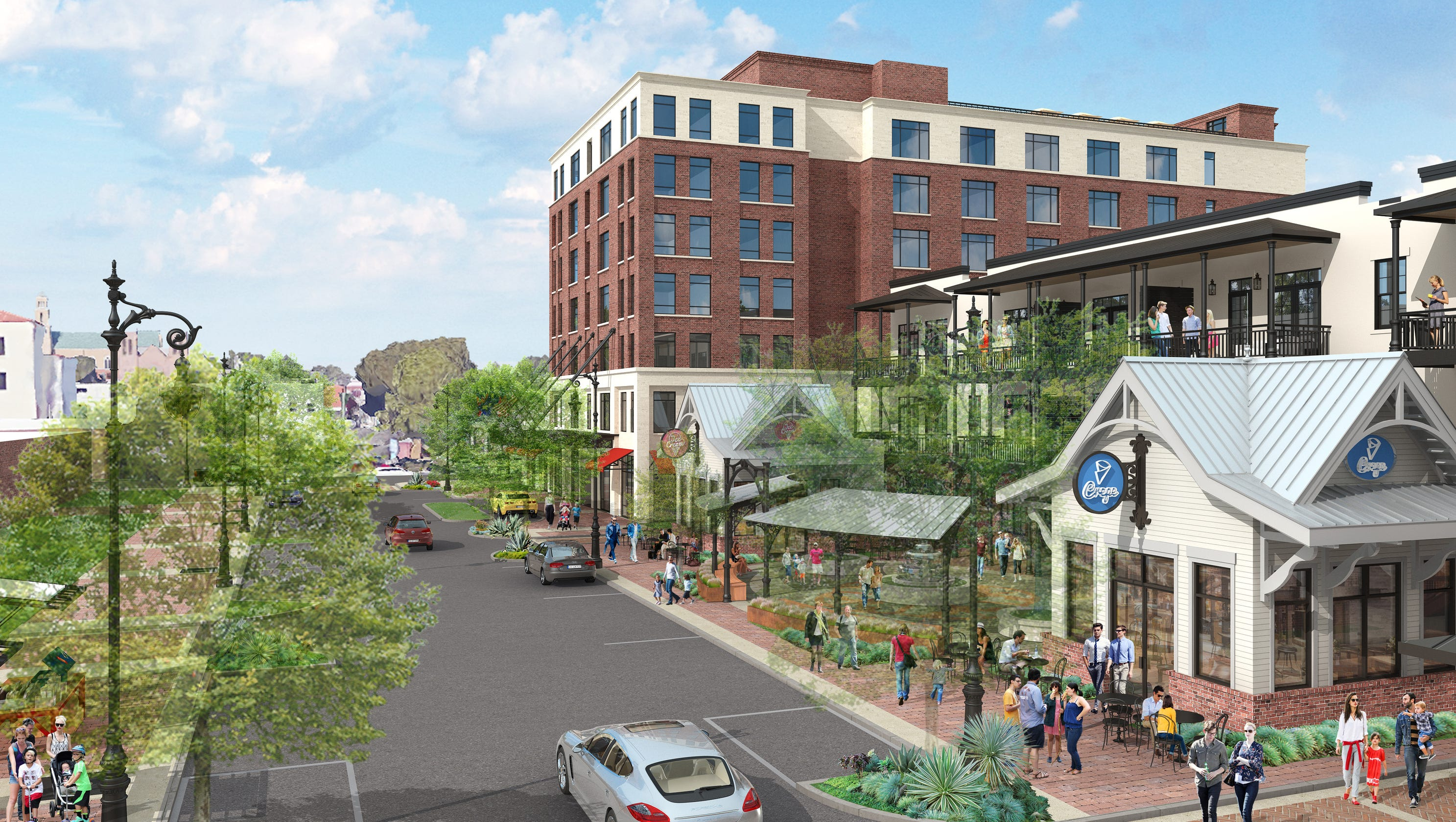 East Garden District Project Will Bring Hotel Rooftop Bar