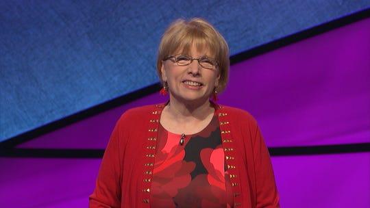 Claudia Walters on 'Jeopardy!'