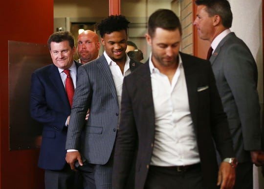 The Arizona Cardinals have plenty to smile about according to NFL draft grades for the 2019 NFL draft.