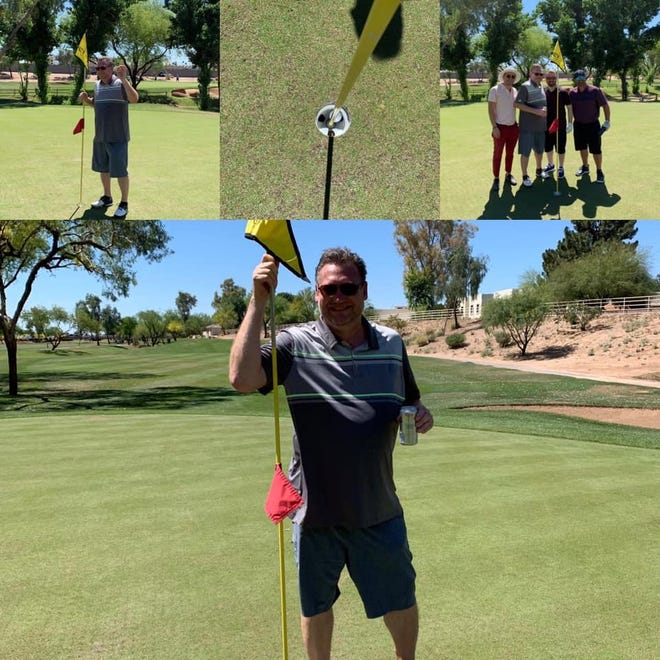 Eric Lee won a truck with a hole in one on April 28, 2109.