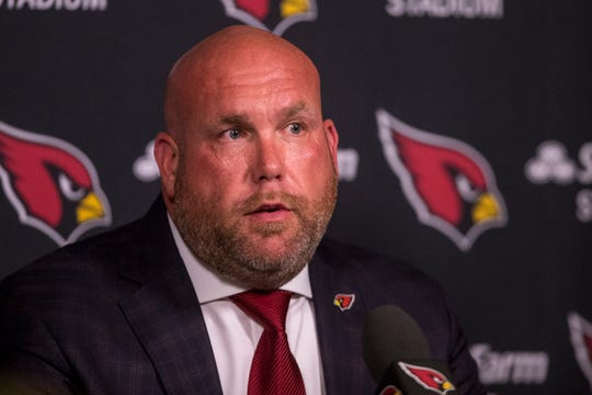 Steve Keim, gerente general de los Arizona Cardinals.