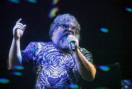 Actor/recording artist Jack Black of Tenacious D performs at The Joint inside the Hard Rock Hotel & Casino on January 30, 2018 in Las Vegas.