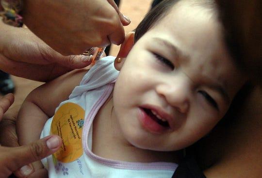 La vacuna es la mejor arma de prevención en contra del sarampión.