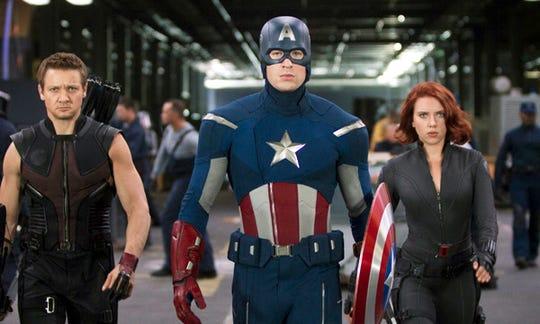 La primera aparición de Los Vengadores en 2012 en la pantalla grande recaudó 1,518,594,910 dólares.